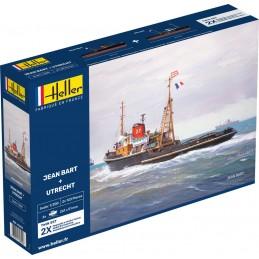 Coffret bateaux Jean Bart + Utrecht 1/200 Heller 85602