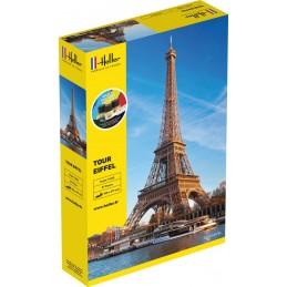 Tour Eiffel 1/650 Heller + colle et peintures 57201