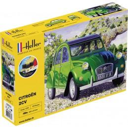 Citroen 2CV 1/24 Heller +...