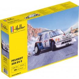 Peugeot 205 EV 2 1/24 Heller 80716