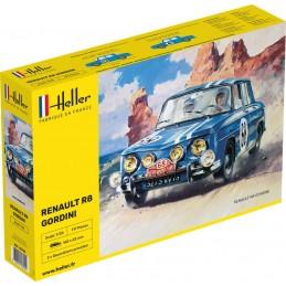 Renault R8 Gordini 1/24 Heller 80700