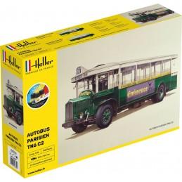 Autobus Parisien TN6 C2 1/24 Heller + colle et peintures 56789