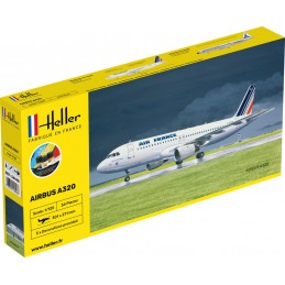 Airbus A-320 Air France 1/125 Heller + colle et peintures 56448