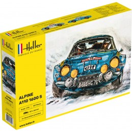 Alpine A110 1600 S 1/24 Heller 80745