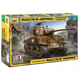 Tank Sherman M4A3 (76) 1/35...