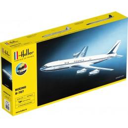 Boeing B-707 Air France 1/72 Heller + colle et peintures 56452