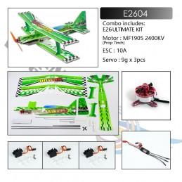 Ultimate 3D biplan E26 586mm PP Kit PNP DW Hobby E2604