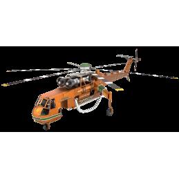 Hélicoptère Sikorsky S-64 Skycrane Metal Earth ICX211