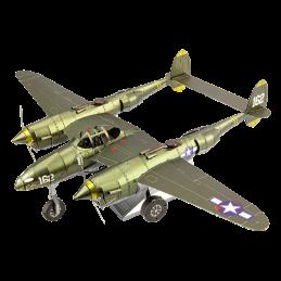 Iconx Avion P-38 Lightning Metal Earth ICX143