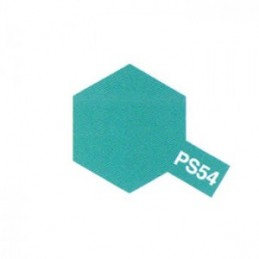 Bomb cobalt green Lexan PS - 54 Tamiya