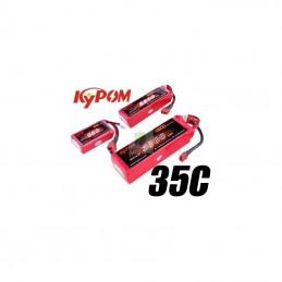 Li - Po 5100mAh 35 c 2S 7 .4V (Dean) Kypom