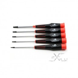 Set 5 screwdriver heragonaux metric - Dynamite