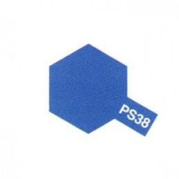 Bombe Lexan bleu translucide PS-38 Tamiya