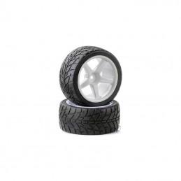 Tires rear track for TT 1/10th - Ansmann - 2pcs