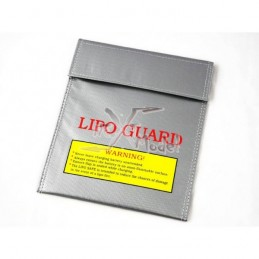 Bag protection (wide) fire lipo
