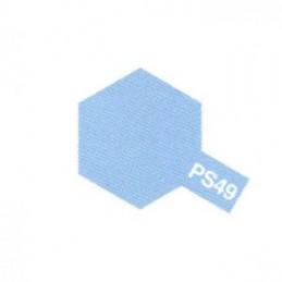 Bombe Lexan bleu métal PS-49 Tamiya
