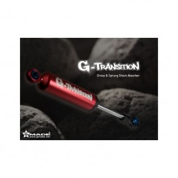 Amortisseurs TS01 Scale rouges 90mm (4) Gmade