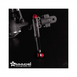 Amortisseurs TS02 Scale noirs 90mm (4) Gmade
