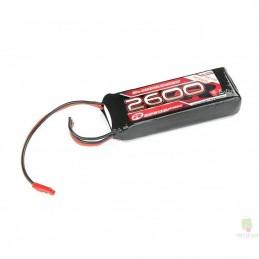 Li - Po receipt 2S 7.4V 2600mAh