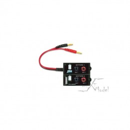 Platine pour charger 2 packs Lipo T2M