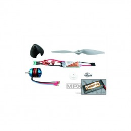 "Combo brushless avion""DogFighter ULTRA"" Li-BATT powered  Multiplex"