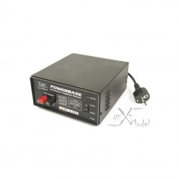 Powerbase stabilized power supply 13.8V 0-20 A T2M