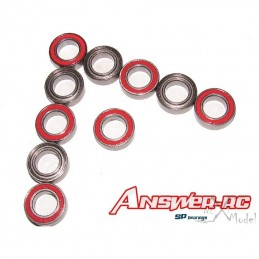 "Bearings 1/2 ""x 3/4"" x 5/32 ""- wheels LOSI (10 pcs) Answer"