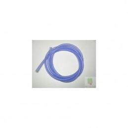 Durite silicone bleu transparente 1m Hobby Taiwan
