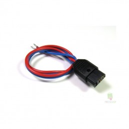 Plug female battery with cable Multiplex