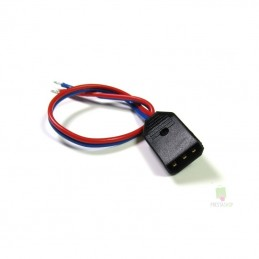 Plug male battery with cable Multiplex