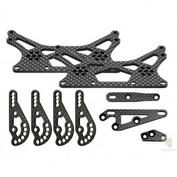 Axial Upgrade carbon Stage 2 XR10 Kit