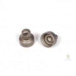 Bouchon d'amortisseur aluminium anodisé 10mm (2) Axial