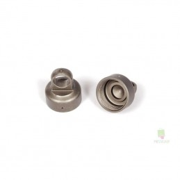 Shock absorber anodised aluminium 10mm (2) Axial plug