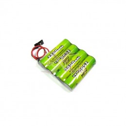 Rx 4.8V 2500mAh battery