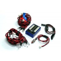 Various electronics: leds and controllers kits