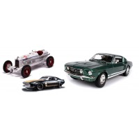 Non radio controlled miniature cars