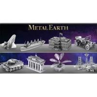 Maquette 3D métal, puzzle