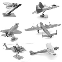 Model airplanes, helicopter, balloons Metal Earth
