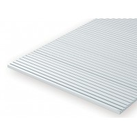 Ribbed plate Evergreen