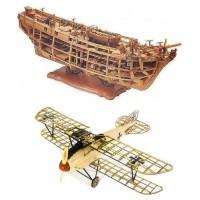 Construction maquettes en bois