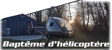 Baptême hélicoptère ULM